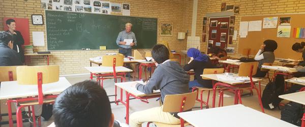 Ildsjæl skaber succes med asylbørn på Aalbæk Skoleafdeling