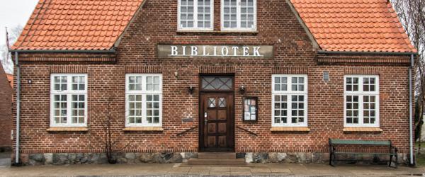 Bogcafe på Ålbæk Bibliotek