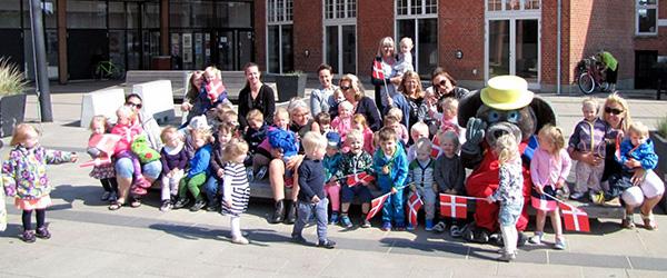 Festlig dag for 65 børn og 14 dagplejere