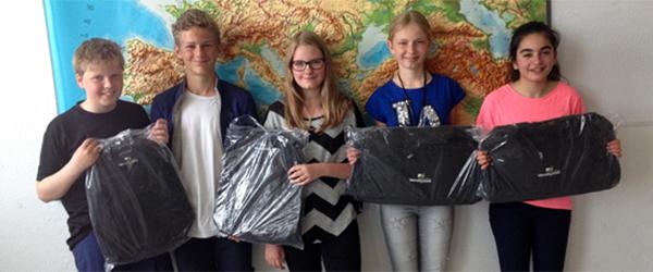 Lisa og Maryam vandt årets cyklistprøve på Skagen Skole