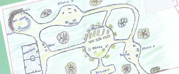Skolemarken: Fra mark til park