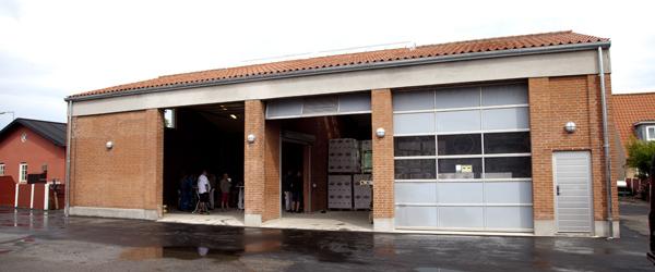 Bryghuset udvider lagerkapaciteten