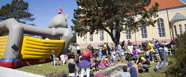 Kirken klar til årets Børnefestival