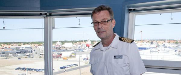 Kaptajn tilbage i Skagen