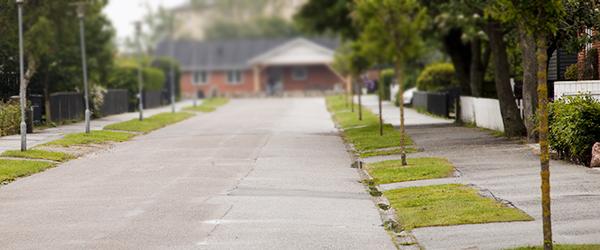Parkering i kommunens rabatarealer