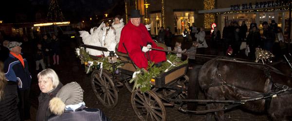 Julen har englelyd i Skagen