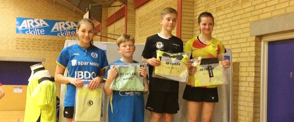 Skagen Badmintonklubs ungdom på pointjagt i weekenden