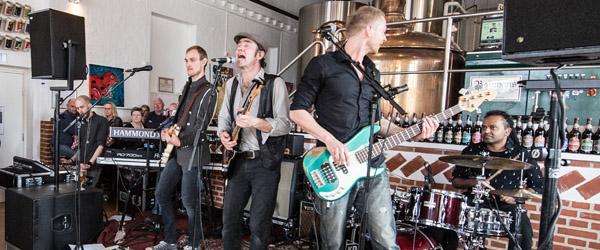Bryghuset: Blues fredag eller Kim Larsen lørdag