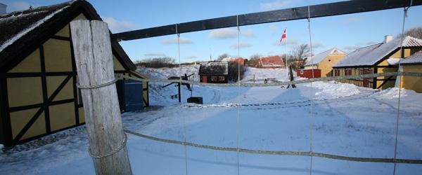 Lokalhistorisk Forening lader sneen dale på Kystmuseet