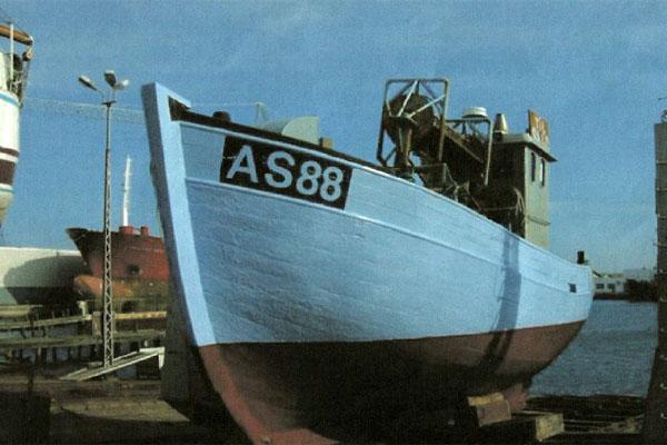Bundgarnsjollen Kapduen er nu erklæret bevaringsværdig af Skibsbevaringsfonden
