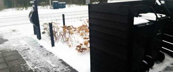 Snefald kan betyde uregelmæssigheder