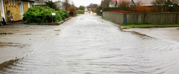 Overflod på 'regnkontoen' gav flere vandskader i 2017