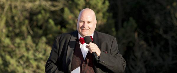 Jens-Christian Wandt synger til Prins Henriks bisættelse