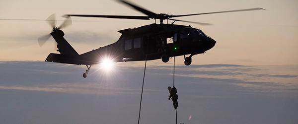 Militærøvelser på Skagen Havn