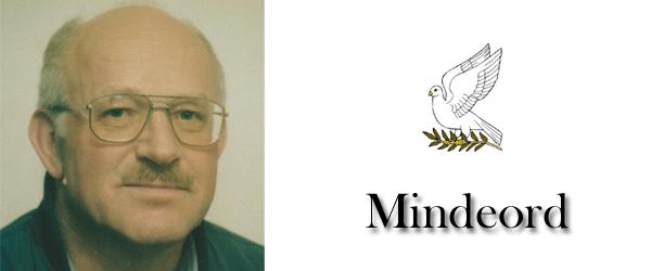 Mindeord over Frede Gaardlund