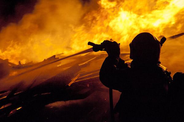 Brandøvelser ved Rema 1000