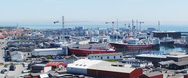 Udvidelse af Karstensens skibsværft