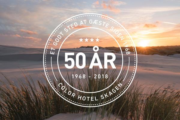 ÅBENT HOTEL på Color Hotel Skagen