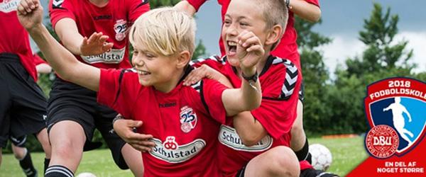 Skagen I.K. inviterer til DBU´s Fodboldskole