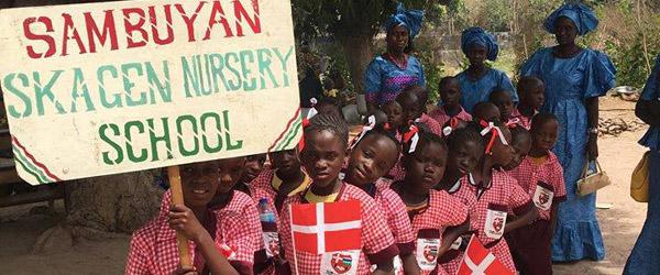 Skagenskolen:  Josephine og Gambia