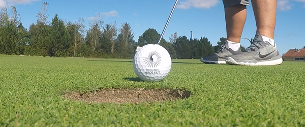Har du lyst til at prøve at spille golf ?