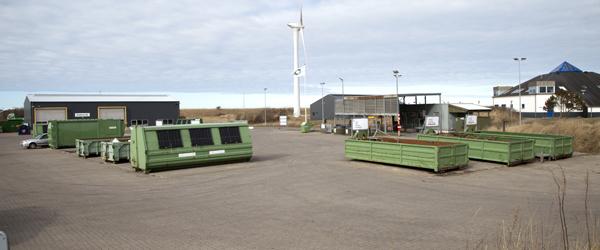 Disse genbrugspladser holdes åbne Grundlovsdag