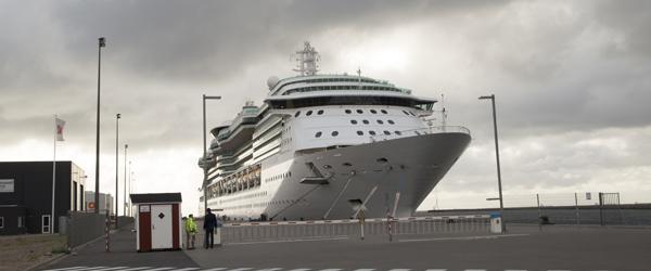 Over 2000 krydstogt gæster er ankommet til Skagen