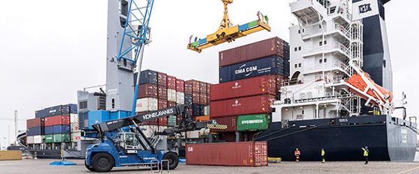 Containerrute etableret på Skagen havn med hele verden som slutdestination