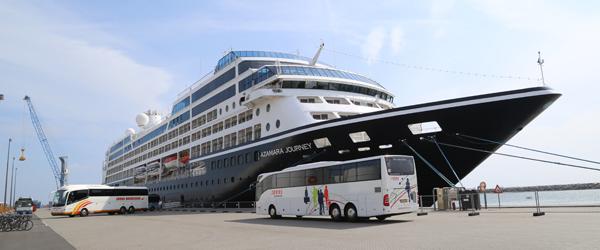 Krydstogt: Gæster fra 27 nationer besøger Skagen i dag