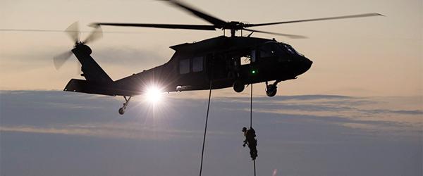 Militærøvelse på Skagen Havn