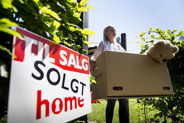 Boligsalg: Hvad der tabes på lejlighederne, vindes på husene