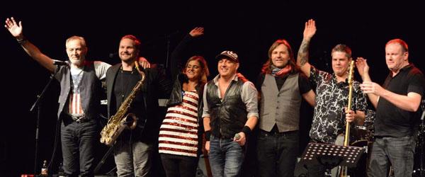 """7 mands """"Springsteen"""" orkester på Bryghuset.."""