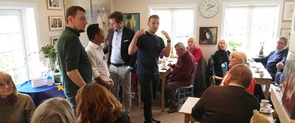 Fuldt hus til EU-debat på Skagen Bamsemuseum