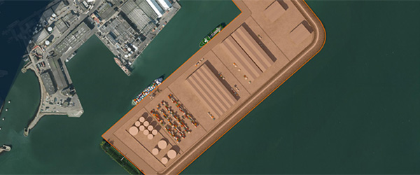 Følg havneudvidelsen etape 3 på nettet