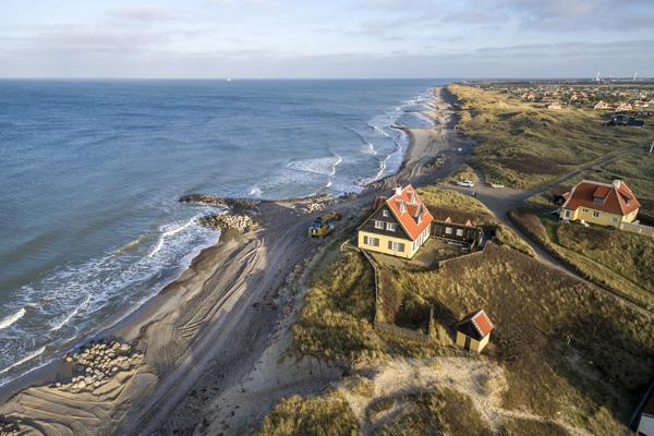 Ny kystsikring redder historisk perle