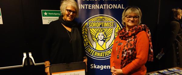 Soroptimister støtter krisecenter i Frederikshavn