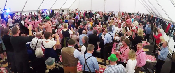 Se video fra Bryghusets oktoberfest
