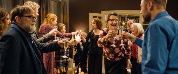 En helt almindelig juleaften i biografen