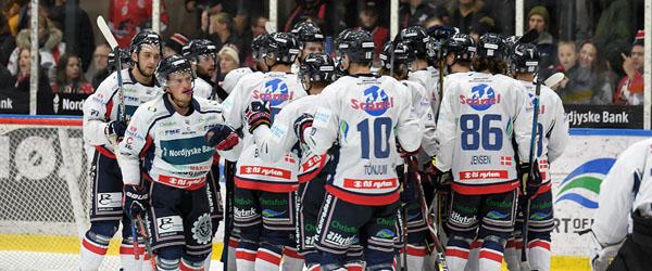 Nordjyske Bank inviterer kunderne til gratis ishockey på fredag