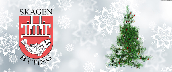Skagen Byting ønsker god jul og godt nytår