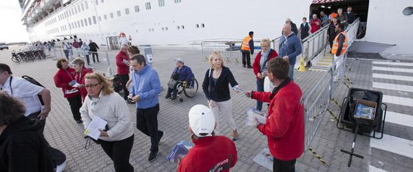 Krydstogtgæster og besætninger brugte 35 millioner i Skagen i 2018