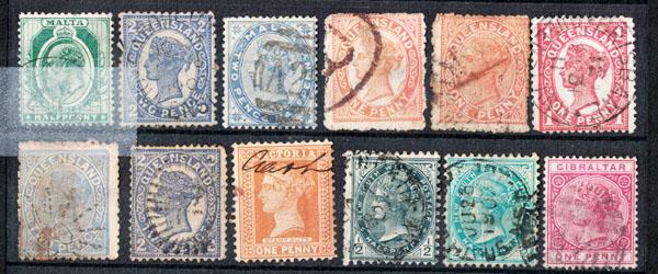 Mere end 100.000 frimærker til salg!