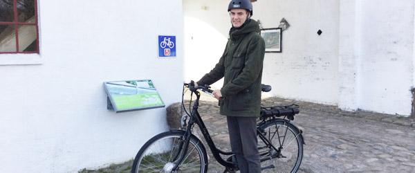 Energibyen: Lån en el-cykel