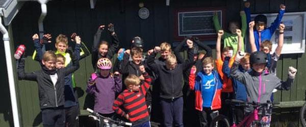 Junior MTB i Skagen OK og Motion……. er kommet rigtigt godt fra start!