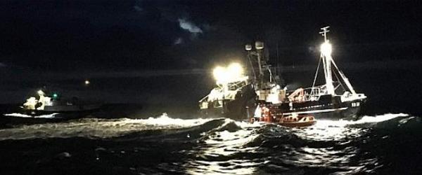 Drama nord for Skagen i nat