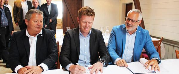Skagen Havn underskriver kontrakt med Per Aarsleff A/S om etape 3 udvidelse