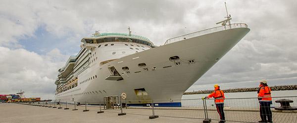 Krydstogtgæster fra 48 nationer besøger Skagen i dag