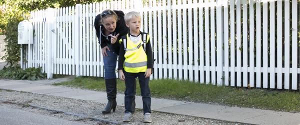 Hvad kan dit barn i trafikken?