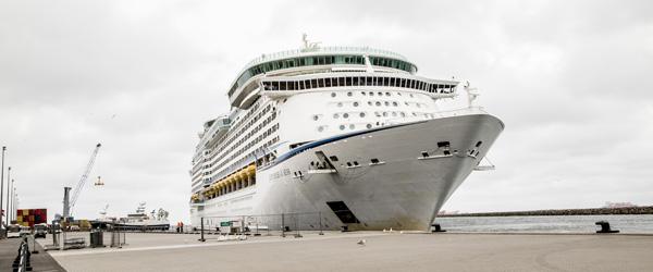 Krydstogt: Passagerer fra 46 nationer gæster Skagen i dag