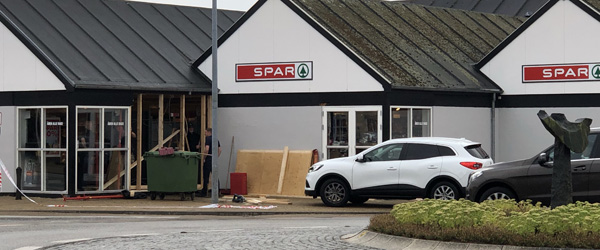SPAR i Ålbæk fik uventet besøg